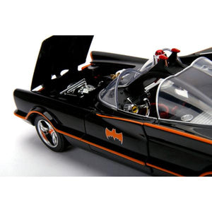 Batman (1966) - Batmobile 1:18 w/Batman