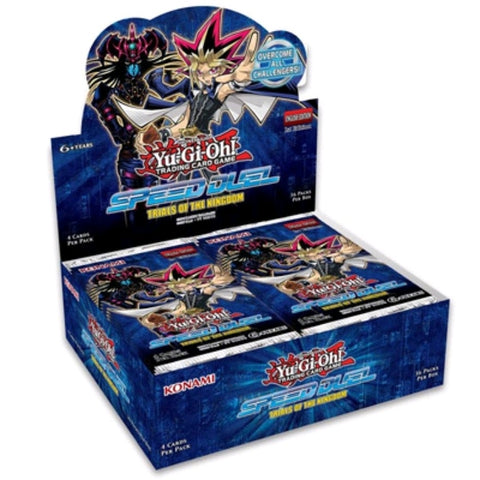 Yu-Gi-Oh! - Speed Duel: Trials of the Kingdom Booster Display