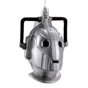 Dr Who Cyberman Xmas Ornament