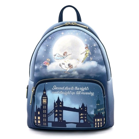 Loungefly Peter Pan - Second Star Glow Mini Backpack