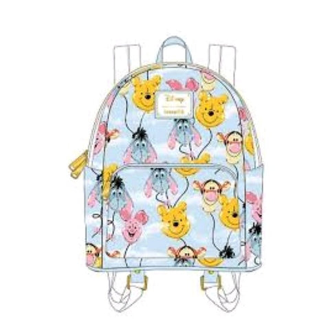 Loungefly Winnie the Pooh - Balloon Friends Mini Backpack