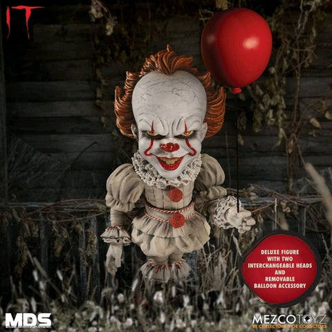 Image of It (2017) - Pennywise Deluxe Designer Figure (Horror)