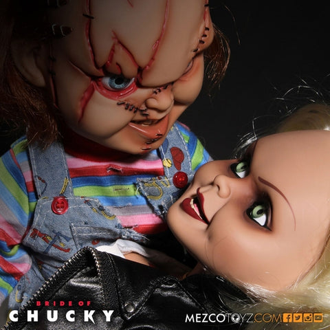 Image of Chucky - Tiffany 15 Talking Action Figure - Horror Figure