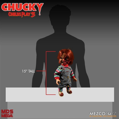 ChildS Play 3 - Chucky Pizza Face 15 inch - Horror Figure