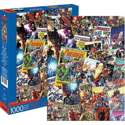 Marvel Avengers Collage Puzzle 1,000 pieces