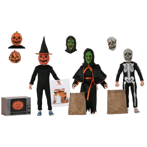 "Halloween 3 - Season of the Witch 8"" Action Figure 3-pack (Horror)(neca)"