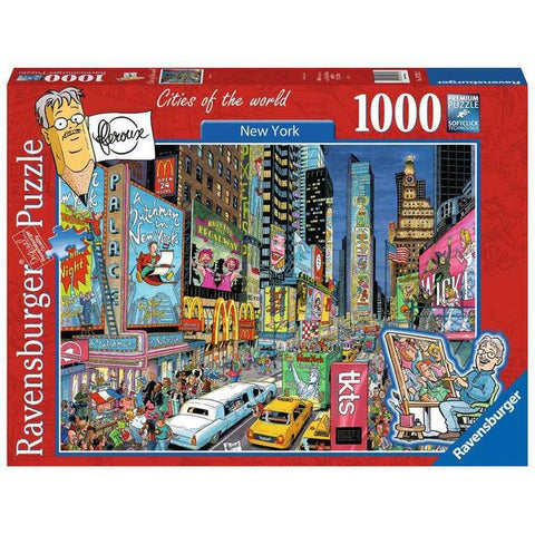 Ravensburger - New York Puzzle 1000 pieces