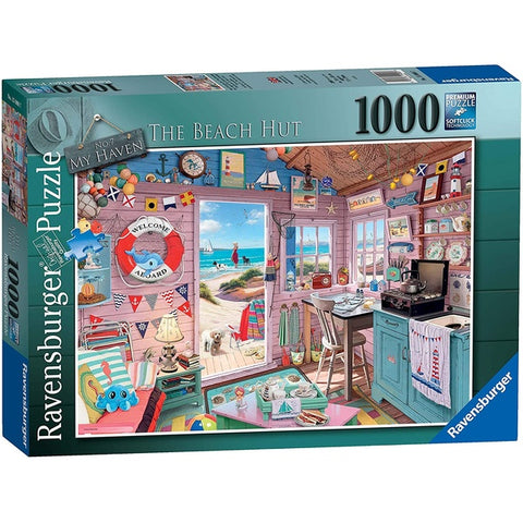 Ravensburger Puzzle - My Haven No 7 - 1000 Beach hut