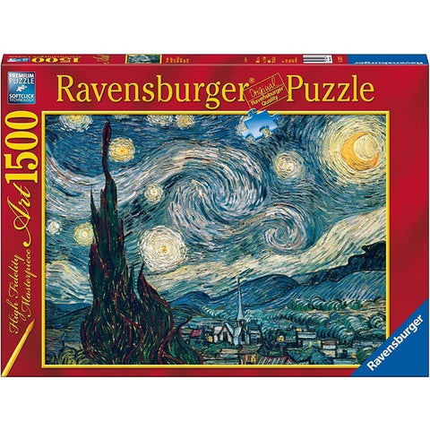 Ravensburger Puzzle 1500 pieces - Van Gogh Starry Night