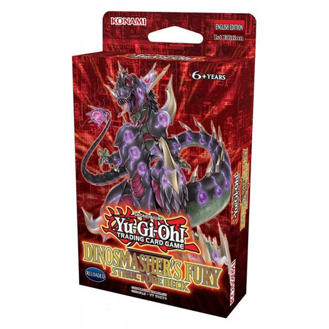 YU-GI-OH! TCG Dinosmasher's Fury Structure Deck