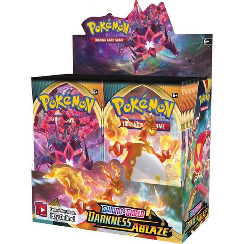 POKÉMON TCG Sword and Shield- Darkness Ablaze Booster Box- In Stock