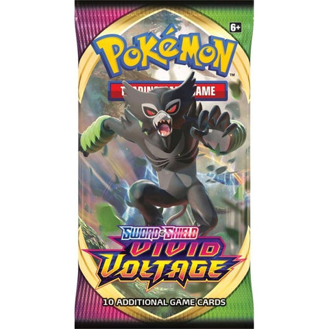 POKÉMON TCG Sword and Shield- Vivid Voltage Booster Box