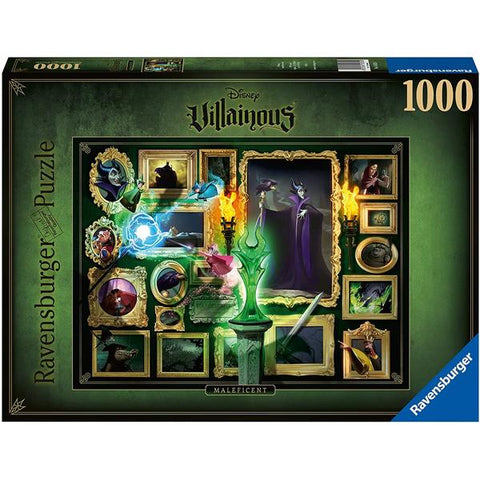 Ravensburger - Villainous Maleficent 1000 piece puzzle