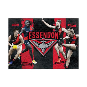 AFL Puzzle Essendon Bombers 4 Player Puzzle 1,000 pieces
