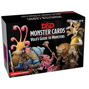 D & D Monster Cards - Volo's Guide to Monsters
