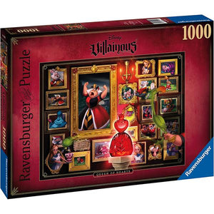 Ravensburger - villainous Queen of Hearts 1000 pc puzzle