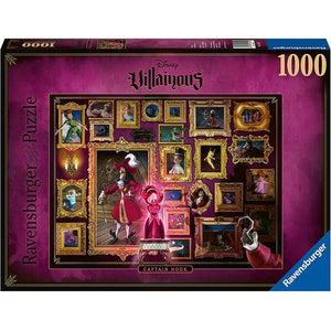 Ravensburger - villainous captain hook 1000 pc puzzle