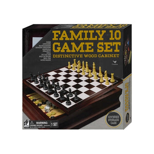 Chess - Family 10 Game set