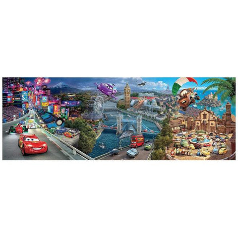 Clementoni Puzzle Disney Cars Panorama Puzzle1,000 pieces