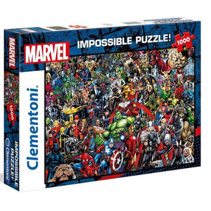 Clementoni Puzzle Marvel Impossible Puzzle 1,000pieces