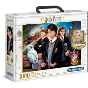 Clementoni Puzzle Harry Potter and the Chamberof Secrets Brief Case Puzzle 1,000 pieces