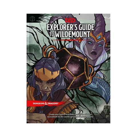 D&D Explorers Guide to Wildemount Book