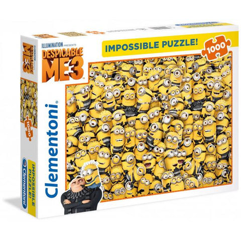 Clementoni Puzzle Despicable Me ImpossiblePuzzle 1,000 pieces