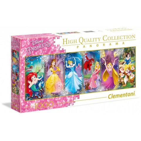 Clementoni Puzzle Disney Princess PanoramaPuzzle 1,000 pieces