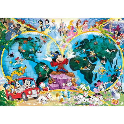 Ravensburger - Disney's World Map Puzzle 1000 pieces