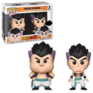 Dragon Ball Z - Failed Fusion US Exclusive Pop! Vinyl 2-pack