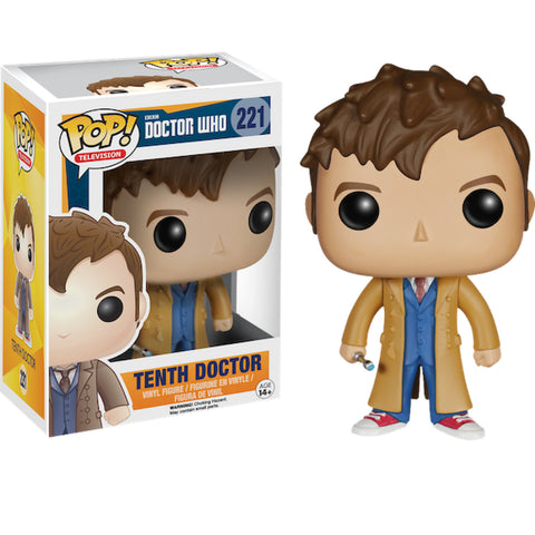 Dr Who Pop - 10Th Doctor