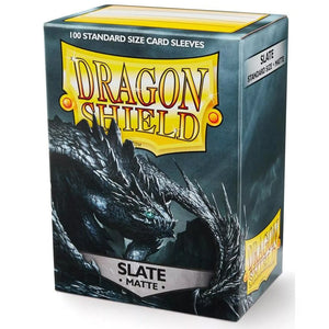 Sleeves - Dragon Shield - Box 100 - Slate MATTE