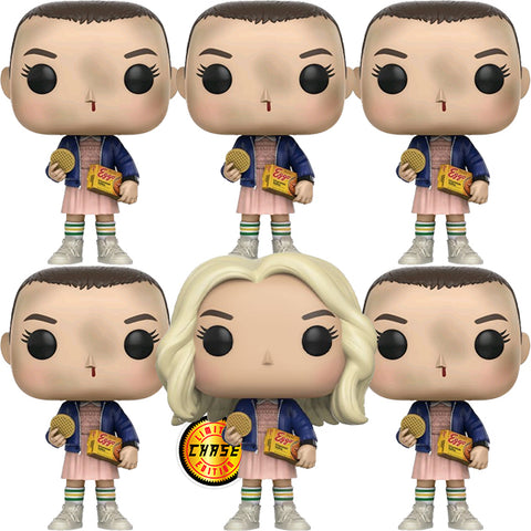 Stranger Things - Eleven with Eggos chase bundle Pop! Vinyl 6 for $106- Due Oct