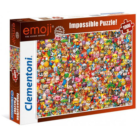 Clementoni Puzzle Emoji Impossible Puzzle 1,000pieces