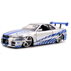 Fast 7 Furious : Brian's Nissan Skyline (R34) - Fast n Furious Movie 1:24