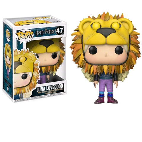 Harry Potter - Luna Lovegood With Lion H