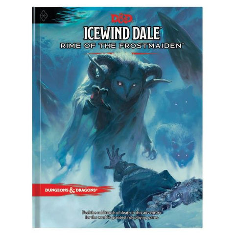 D&D Icewind Dale: Rime of the Frostmaiden book