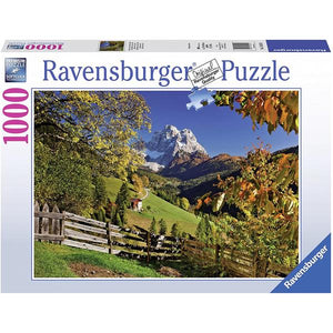 Ravensburger - Mountainous Italy Puzzle 1000 Piece