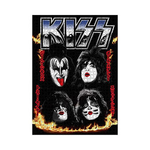 Licensed Puzzle KISS Faces Puzzle 1,000 pieces