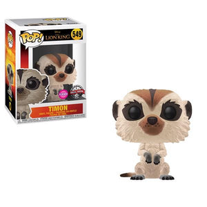 Lion King (2019) - Timon Flocked US Exclusive Pop! Vinyl