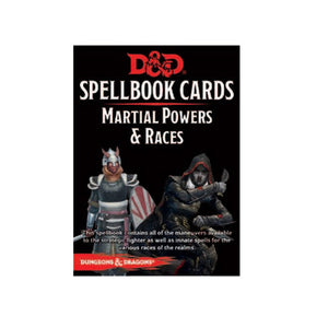 D&D Spellbook Cards - Martial Powers