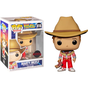 Back To The Future - Marty McFly Cowboy pop Vinyl