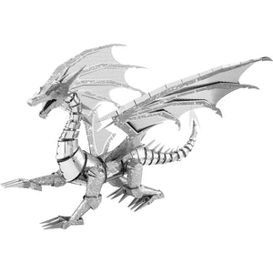 Metal Earth - Silver Dragon