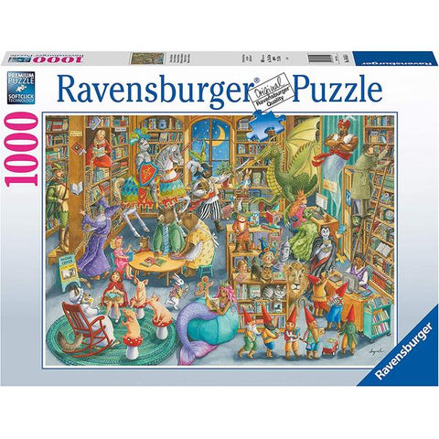 Image of Ravensburger - Midnight at the Library 1000 pieces