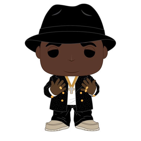 Notorious BIG - Notorious BIG Black Suit Fedora Pop! Vinyl
