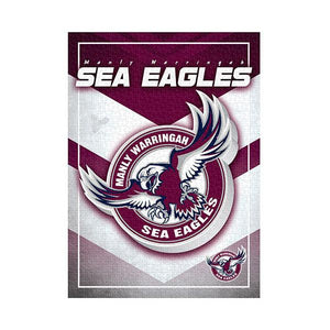 NRL Puzzle Team Logo Manly Warringah Sea Eagles Puzzle 1,000 pieces