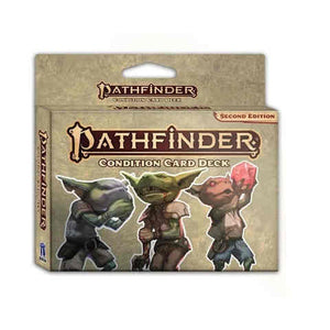 Pathfinder Second Edition Condition Card Deck