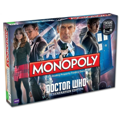 Monopoly - Doctor Who Regeneration Editi