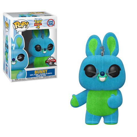 Toy Story 4 - Bunny Flocked US Exclusive Pop! Vinyl [RS]