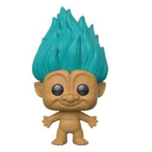 Trolls - Teal Troll with Hair